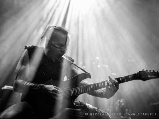 Ensiferum in Geiselwind Christmas Bash 2016