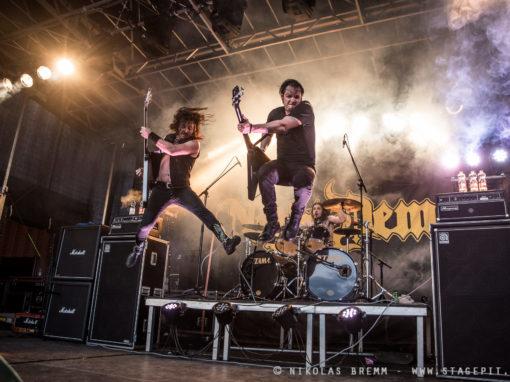 Night Demon auf dem Metalheadz Open Air 2017