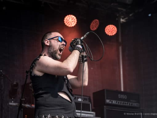 Dexter Ward auf dem Metalheadz Open Air 2018